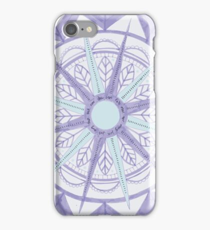 Calendar Tapestry iPhone Case/Skin