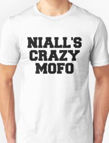 """One Direction - """"Niall's crazy mofo"""" T-Shirt"""