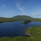 Connemara Ireland Lake Panorama by Allen Lucas