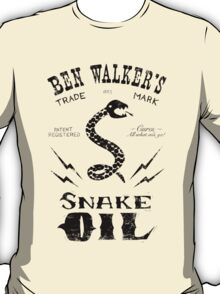 Snake Oil - black T-Shirt