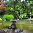 Japanese Garden 2 by Debbie  Maglothin
