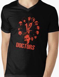 12 doctors Mens V-Neck T-Shirt