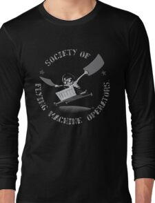 Seal of the Society of Flying Machine Operators Long Sleeve T-Shirt