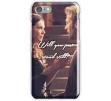 Luke and Lorelai - Stand Still iPhone Case/Skin