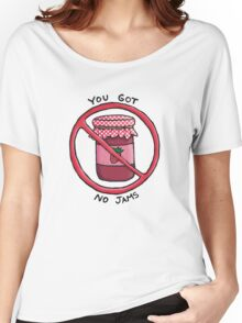 You got no jams (literally) - Rap Monster (BTS) Women's Relaxed Fit T-Shirt