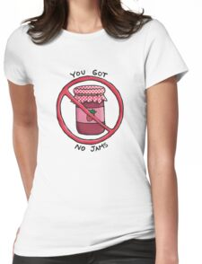 You got no jams (literally) - Rap Monster (BTS) Womens Fitted T-Shirt