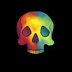 Rainbow Skull by RainbowCarnagex