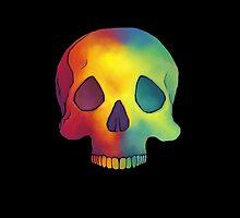 Rainbow Skull by RainbowCarnagex