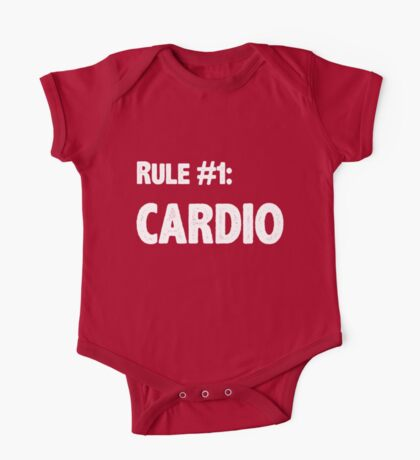 Rule #1 Cardio One Piece - Short Sleeve