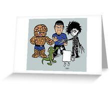 Rock, Paper, Scissors... Greeting Card