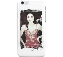 Lana Parrilla - autograph iPhone Case/Skin