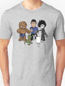 Rock, Paper, Scissors... Unisex T-Shirt