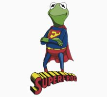 Kermit the Superman One Piece - Short Sleeve