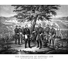The Surrender Of General Lee -- Civil War by warishellstore