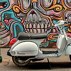 Vespa at Hosier Lane by Pauline Tims