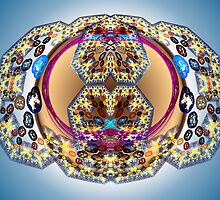 Tut64#4: Bubble Geometree (G1388) by barrowda