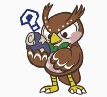 Blathers Sticker by SpencerBingham