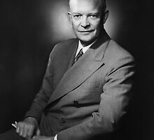 President Dwight Eisenhower by warishellstore