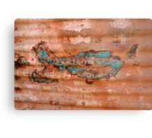 Tank Fish out in the Goldfields Metal Print