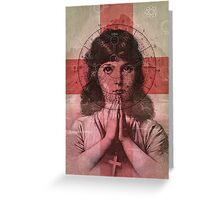 The Christian Girl Greeting Card