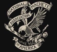 National Machete Association - Official Seal by Ben Walker