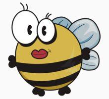 Cartoon bee Baby Tee