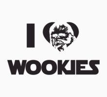 I <3 Wookies Graphic by VolkWear