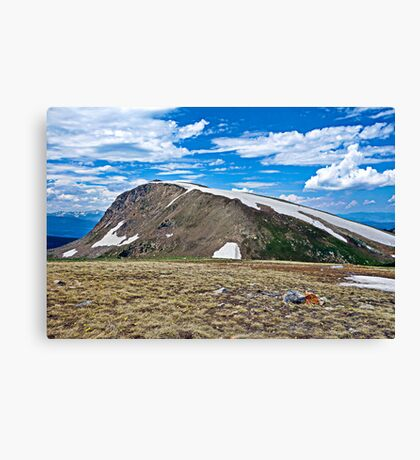 Mt. Epworth in Blue  Canvas Print