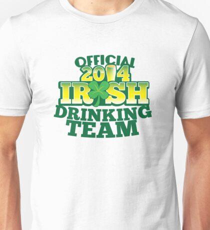 OFFICIAL 2014 IRISH drinking TEAM! Unisex T-Shirt