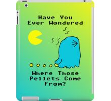 Where Pellets Come From iPad Case/Skin