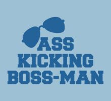ASS kicking BOSS MAN! with aviator glasses by jazzydevil