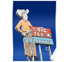 The Big Texan, Amarillo, Tx Poster