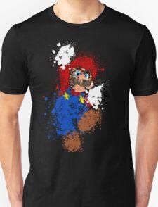 Splatter Mario T-Shirt