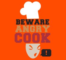 BEWARE ANGRY COOK! chef cooking swearing  by jazzydevil