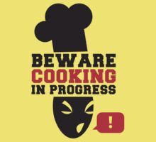 BEWARE ANGRY COOK COOKING IN PROGRESS ! chef cooking swearing  by jazzydevil
