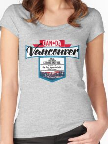 Vancouver Canada Women's Fitted Scoop T-Shirt