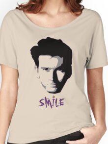 Kilgrave: Smile (black on light colors) Women's Relaxed Fit T-Shirt