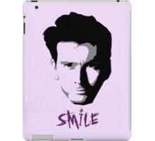 Kilgrave: Smile (black on light colors) iPad Case/Skin