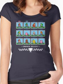 SUPER SMASH KART Women's Fitted Scoop T-Shirt
