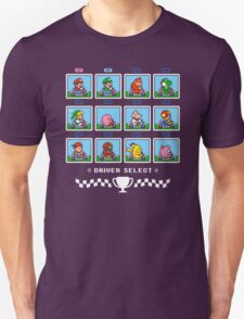 SUPER SMASH KART Unisex T-Shirt
