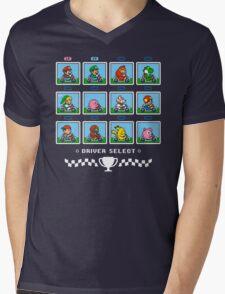 SUPER SMASH KART Mens V-Neck T-Shirt
