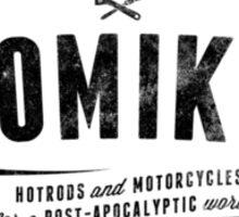 ATOMIKON Hotrods & Motorcycles Sticker