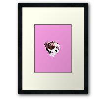 Pink Puppy Framed Print