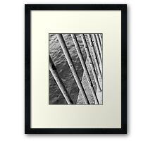 Through Framed Print