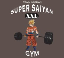 Super Saiyan Gym White by Gigikuo73
