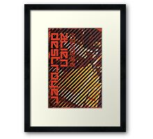 Alien Destroyer Framed Print
