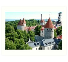 Tallinn, Estonia Art Print