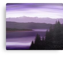Purple Wilderness Canvas Print