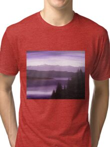 Purple Wilderness Tri-blend T-Shirt