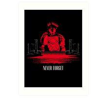 The Red Wedding (Direwolf version) Art Print